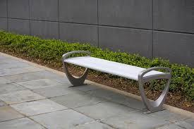 trio bench outdoor forms surfaces