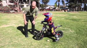 trials and motocross bikes for sale kid riding oset 12 5 electric trials bike youtube