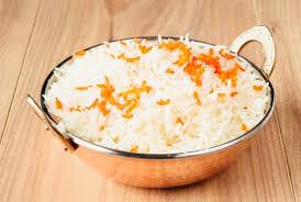 cuisiner du riz blanc riz au safran riz blanc basmati préparé au safran ou nature