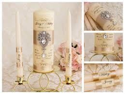 bougie personnalisã e mariage bougies de lunité chagne personnalisé mariage unité