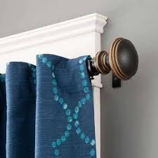Turquoise Curtain Rod Oil Rubbed Bronze Curtain Rods U0026 Sets Curtain Rods U0026 Hardware