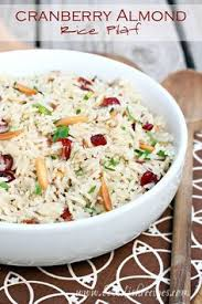 brown rice and almond pilaf recipe gluten free thanksgiving