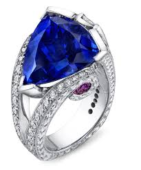 rings with tanzanite images Magnificent tanzanite unique ring floral engagement rings mark jpg