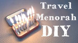 travel menorah travel menorah 8 diys of hanukkah