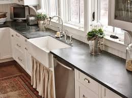 Types Of Kitchen Countertops by Kitchen Faucet Farmhouse Sink And Slate Countertops With