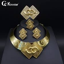 fashion jewelry necklace sets images Dubai gold color new fashion jewelry set bridal nigeria african jpg