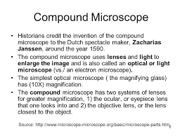 why is a light microscope called a compound microscope compound microscope dr jamba gyeltshen 7 9 ppt video online download