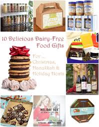 10 delicious dairy free food gifts for everyone on your list