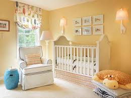 Yellow Nursery Curtains Best Colors For Nursery Curtains Home Design
