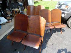 Double Seat Folding Chair Repurpose Theater Seats Stadium Seats For The Home Pinterest