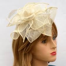 chapeau pour mariage chapeau pour cérémonie et mariage ivoire vimariage