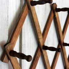 best vintage wood coat rack products on wanelo