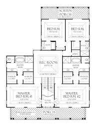 single house plans with 2 master suites house plans master suites single mastersuite simple 5