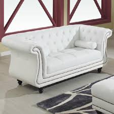 White Leather Chesterfield Sofa Ss52 White Leather Chesterfield Sofa Set With Button Design Buy