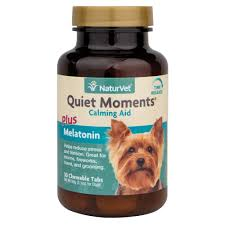 naturvet quiet moments time release chewable tablets for dogs petco