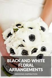 white floral arrangements 10 black and white floral arrangements top wedding websites