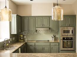 Painted Kitchen Cabinets Green Painted Kitchen Cabinets Akioz Com