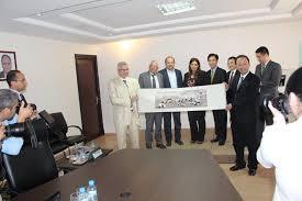 chambre de commerce fes rencontre avec la délégation de la ville chinoise chengdu chambre