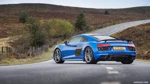 Audi R8 Blue - 2016 audi r8 v10 plus coupe uk spec blue rear hd wallpaper 29
