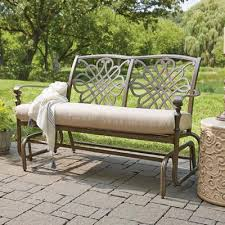 Patio Furniture Glider by Patio Chairs For Your Backyard And Garden The Home Depot