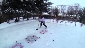 gopro backyard rink youtube