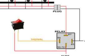 wiring diagram for led light bar without relay wiring diagram