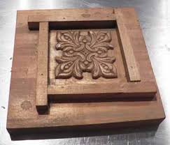 how to make a simple mould to make tiles or simple ornaments