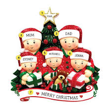 personalized family ornaments callisters