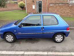 blue peugeot blue peugeot 106 independence u002751 plate 24000 genuine miles 12