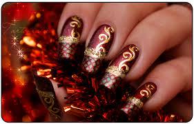 14 christmas nail art entertainmentmesh