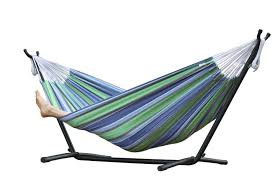 vivere u0027s combo double hammock with stand 8ft walmart canada