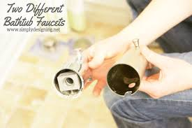 How To Change A Faucet In The Bathroom How To Install A New Bathtub Faucet When It Is Incompatible With