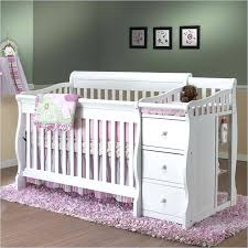 4 In 1 Crib With Changing Table White Crib And Changing Table Getanyjob Co