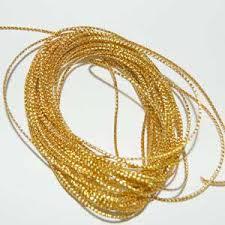 metallic gold ribbon gold ribbon string