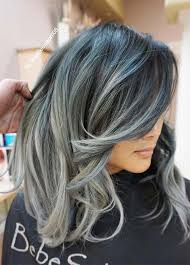Gray Blue Color - 85 silver hair color ideas and tips for dyeing maintaining your