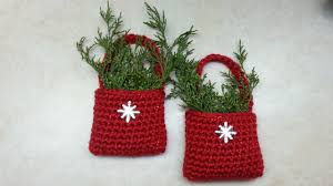 crochet how to crochet easy bag o day crochet ornament