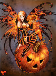 fairy of halloween pumpkin by u003dcandra on deviantart candra