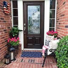 Decorating A Small Home How To Decorate A Small Front Porch U2013 Angela East