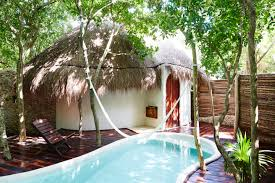 luxury rental with private pool in tulum mexico