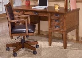 Sturzen Furniture Cross Island Leg Desk W Storage