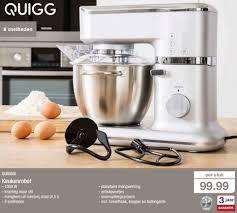 de cuisine quigg aldi promotion quigg keukenrobot quigg de cuisine