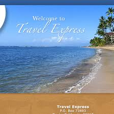 Travel express home page