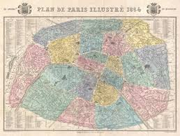 map of pairs file 1864 garnier map of pairs w monuments geographicus