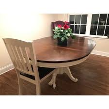 Cottage Style Dining Room Furniture by Furniture Of America Bethannie Cottage Style 2 Tone Oval Dining