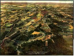 Gettysburg Pennsylvania Map by Maps Of The Field Of Gettysburg