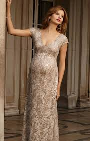 carmen maternity gown gold rush maternity wedding dresses