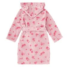 cath kidston girls dressing gown mono hampstead ditsy light pink