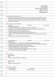 International Business Resume Sample by Credit Analyst Resume Templates Ms Word Doc Format