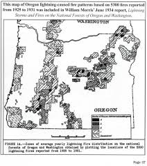 Map Of Fires In Oregon by Nw Maps Co Zybach 2015 Article Historic Oregon Wildfires