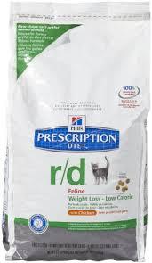 hills prescription diet rd feline weight loss low calorie chicken